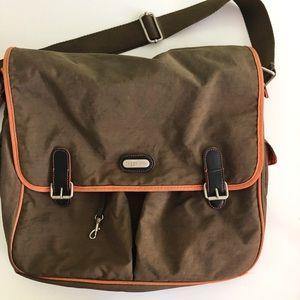 Baggallini Large Fold Over Flap Messenger Bag
